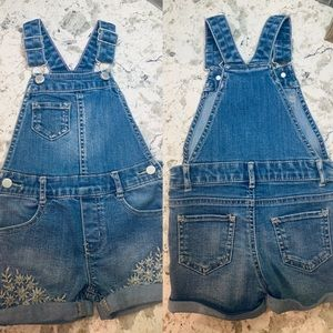 Toddler jean overalls size 3T